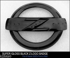 350Z Z LOGO SUPER HIGH GLOSS BLACK EMBLEM BADGE FAIRLADY 350 Z BODYKIT