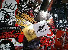 HUGE 44+ BAND STICKER LOT PUNK ROCK POP METAL EMO MUSIC