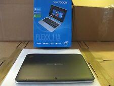 "NEXTBOOK  Flexx 11A Windows 10 2-in-1 Tablet Laptop 11.6"" Intel Quad 64GB Latest"