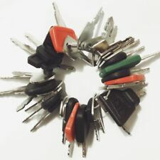 41 keys Construction Ignition/Heavy Equipment Key Set CAT Case volvo JD Komatsu