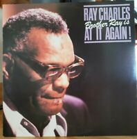 RAY CHARLES Brother Ray Is At It Again! Atlantic– SD 19281 NM Vinyl Lp