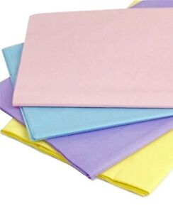121X121CM PACK OF 3 COLOURED PASTEL PLASTIC TABLE COVER PARTY WIPE/CLEAN CLOTH
