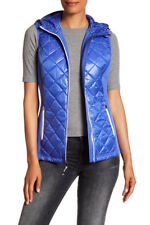 NWT Michael Kors Women's Quilted Vest Size S in Royal Lightweight $150
