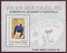 VIETNAM Bloc N°55**Bf Tableau Van Gogh,1990 Vietnam 2081 Painting London'90 MNH