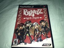 Bratz: Rock Angelz Sony PlayStation 2 PS2 Complete W/Manual FREE SHIPPING