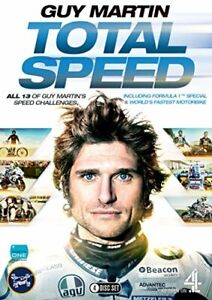 Guy Martin: Total Speed Boxset (series 1/2/3 and F1 Special) [DVD][Region 2]