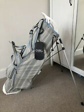 OUUL SUPER LIGHT STAND BAG GREY/WHITE/LIGHT BLUE. NEW WITH TAGS