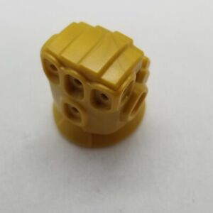NEW LEGO   Minifigure Body Part - Pearl Gold Infinity Gauntlet Left Hand Glove