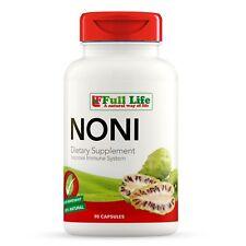 Full Life Noni - Morinda Citrifolia - 90 Capsules - 500mg - Dietary Supplement