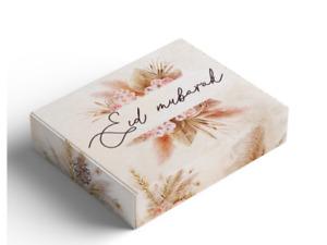 Eid Mubarak Boxes--Boho Chic-  Islamic Party Decorations Eid Gifts 2021