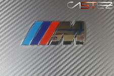 EMBLEMA INSIGNIA LOGO BMW M cromado motorsport adhesivo badge m3 m1 m5