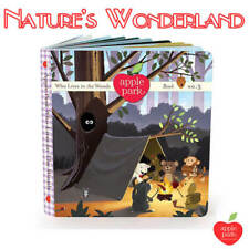 PICNIC PALS Bk 3 Who Lives in the Woods Organic Artboard 3rd of set 4 Apple Park