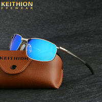 KEITHION Polarized Men Sunglasses Driving Sports Outdoor Mirrored Glasses UV400
