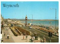 The Clock Tower and Esplanade, Weymouth, Dorset, England Rare Postcard