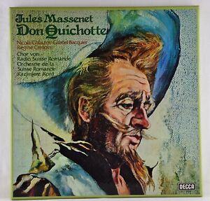 MASSENET / KORD - Don Quichotte - 3 LP BOX Decca Germany 1979