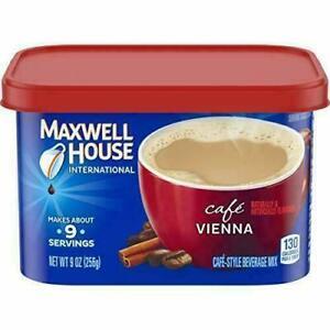 Maxwell House International Cafe Vienna Instant Coffee (9 oz Tin)