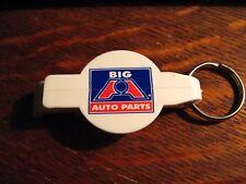Big A Auto Parts Keychain - Vintage Automotive Mechanic Bottle Opener Keyring