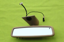 01-04 MERCEDES W203 C240 C320 C32 COUPE REAR VIEW  MIRROR homelink