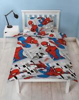 Spiderman Bedding Set Duvet Cover Single Bedding For Boys Marvel