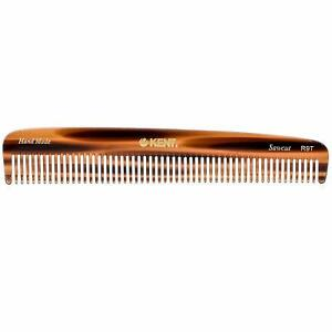 Kent R9T Fine Tooth Comb for Hair Care/Parting Comb and Combs for Men