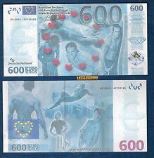 Billet de 600 Euro Eros Sexy Fantaisie Homme Nu Sex