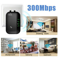 300Mbps Wifi Repeater Wireless-N 802.11 AP Router Extender Signal Booster Range~