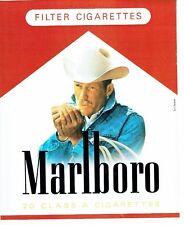 Publicité Advertising 087  1985   cigarettes Marboro *