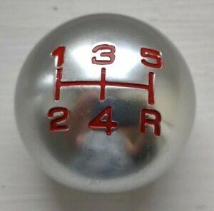 Universal Alloy gear knob manual screw type 5 speed