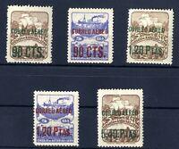 Sellos de España 1937 Asturias y Leon NE 12/16 aereos Nuevos sin charnela stamps