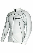 Zimco Pro Bike Jacket Cycling Viz Jacket Winter Soft Shell Wind Jersey White