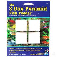 API Aquarium 3 Day Pyramid Holiday Fish Feeder
