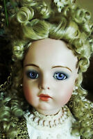 NEW ANTIQUE REPRODUCTION 28 in FRENCH BRU JNE PORCELAIN PATRICIA LOVELESS DOLL
