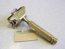 Vintage Brass Ever-Ready 1912 Style SE Safety Razor