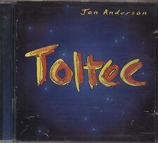 JON ANDERSON - Toltec - CD 1996 CD NEAR MINT BOOKLET GOOD CONDITION 13 TRACKS