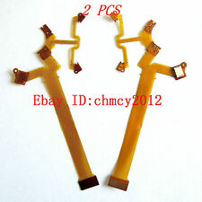 2PCS Lens Shutter Aperture Anti-shake Flex Cable FOR FUJI FUJIFILM X10 X20