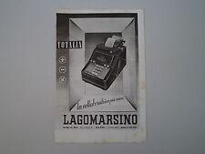 advertising Pubblicità 1941 TOTALIA LAGOMARSINO