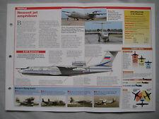 Aircraft of the World Card 126 , Group - Beriev A-40 Albatross