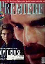 Premiere Magazine February 1990 Tom Cruise The Simpsons Gianni Versace Kool Mild