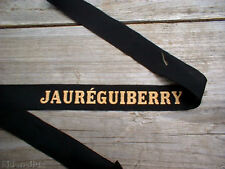 JAUREGUIBERRY : RUBAN LEGENDE MARINE :   JAUREGUIBERRY