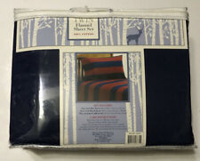 Twin Flat Sheet Divatex Home Fashions. Flannel Red And Blue color.100% Cotton