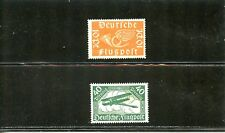 LOT 73546 MINT HR C1  C2 AIR MAIL   STAMPS FROM GERMANY