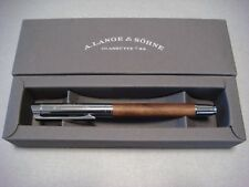 A.Lange & Sohne Maple Wood & Stainless Steel Rollerball Pen New & Boxed