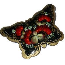 Papillon Broche russe, Cadeau pour Femme Petit prix, Broche en forme de Papillon