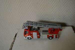 Firefighter Truck Burago Iveco Magirus 150 E28 Fire Truck J 1/50