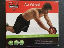 Valeo Ab Roller ab Wheel Abdominal Workout , Exercise toning wheel for 6 pack ab