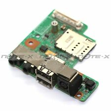 NEW GENUINE DC JACK SOCKET WITH AUDIO USB BOARD FOR DELL LATITUDE E5400 LAPTOP