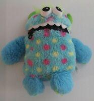 Worry Eater Monster Sorgenfresser Schmidt Doll Soft Plush Toy Works Store Blue