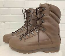 KARRIMOR SF MENS BROWN LEATHER COLD WET WEATHER BOOTS -13 Medium .  British Army