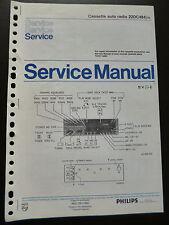 Original Service Manual  Philips 22DC484
