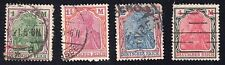 Germany Sc #129-132 F-VF Used